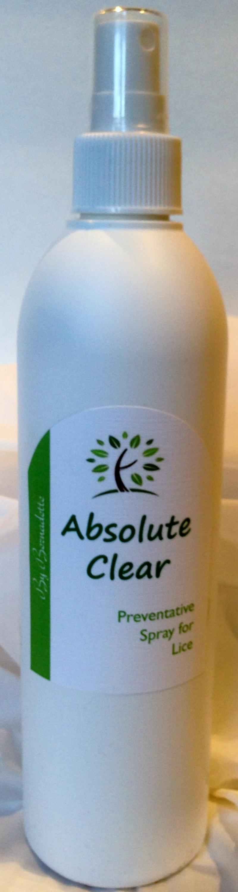 Absolute Clear - Preventative Spray